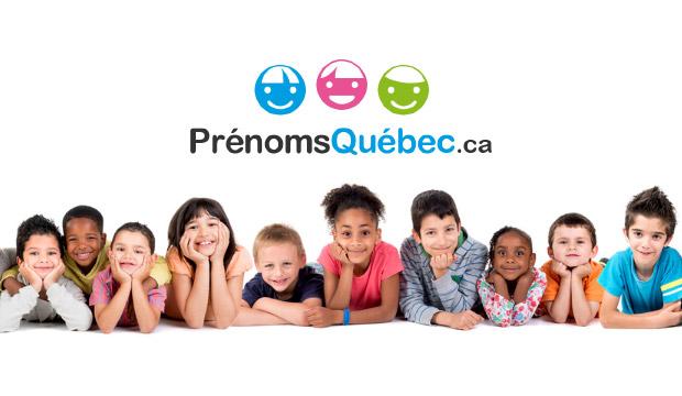 Québec Top Prénoms Top Féminins 100 80OPXnwk